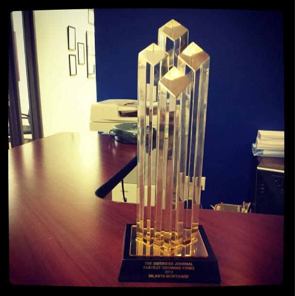 Fastest Growing Firms Award