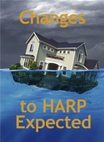 Changes to HARP Expected