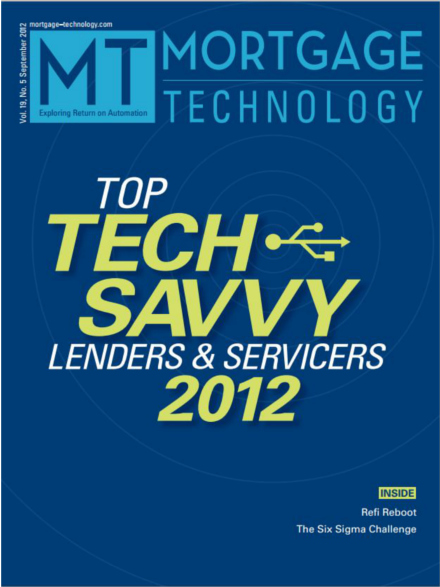 Mortgage Technology Awards 2012