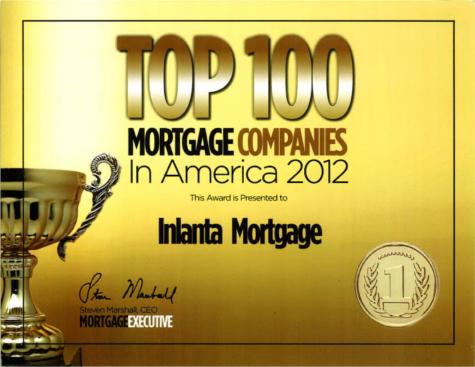 Top 100 Mortgage Company 2012