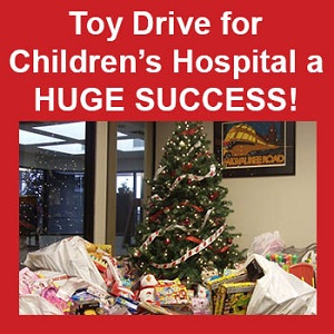 Toy Drive a Huge Success