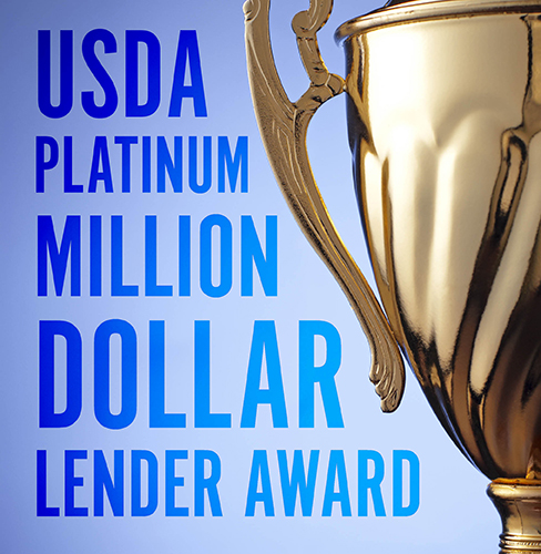 Platinum-USDA-Lender-Award