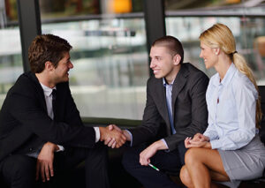 Couple with Lender