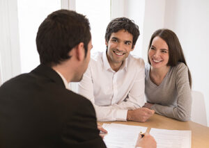 Loan Officer with Couple