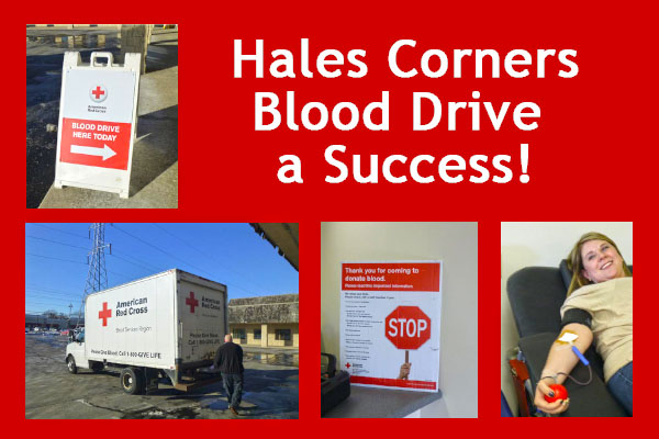 Blood Drive Hales Corners