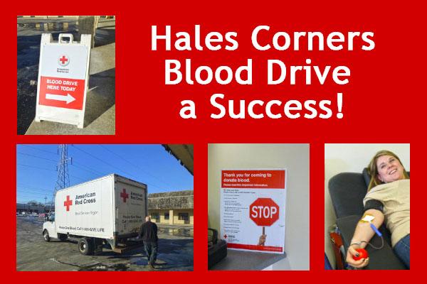 Blood Drive Hales Corners