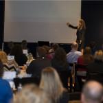Casey Cunningham gives her presentation