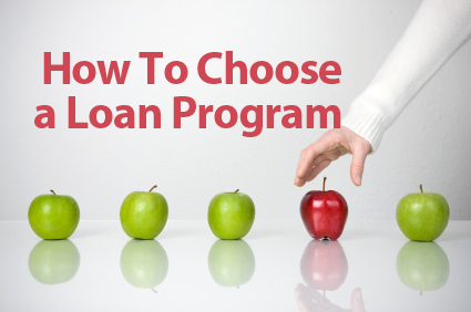 Choose Loan Program