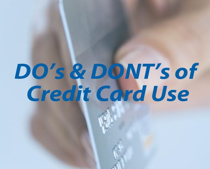 Responsible Credit Card Use