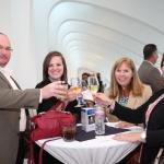 Roy Pointer, Julia Bearden, Brenda Schwab and Amy Walters say cheers!