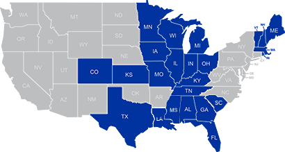 Inlanta State Licenses Map