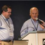 John Watry and John Knowlton speaking
