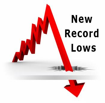 Mortgage Rates Break Records