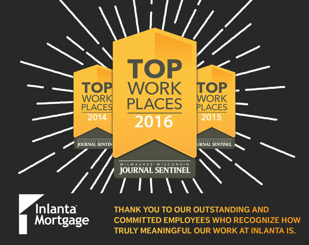 Top Workplaces Awards 2014, 2015, 2016
