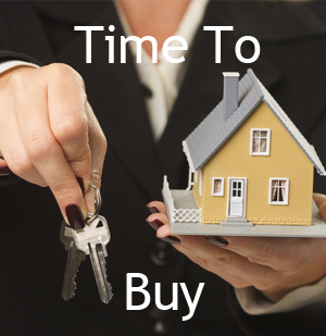 Now is the time to buy a house.