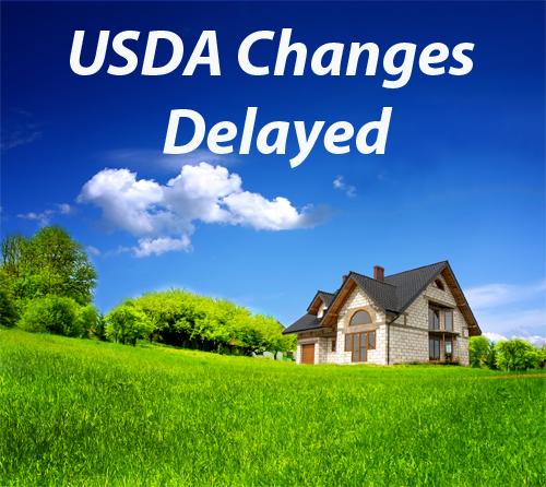 USDA-Changes-Delayed