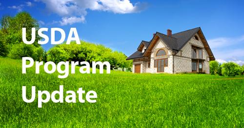 USDA Rural Development Program Update
