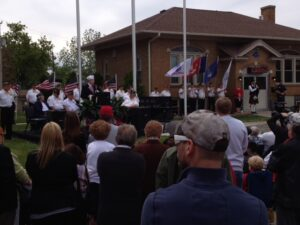 Veteran Memorial Ceremony