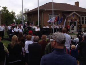 Veteran Memorial Ceremony