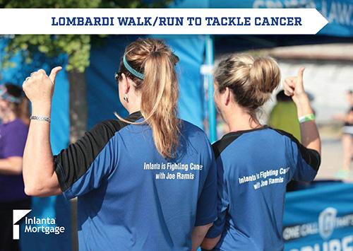 Inlanta employees at Lombardi Walk/Run