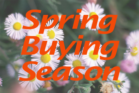 Spring Buying Season